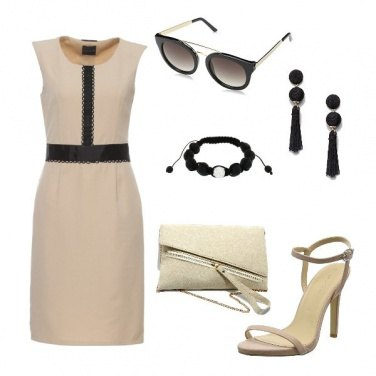 Outfit Chic Nude