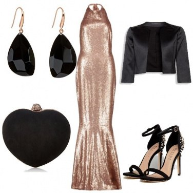 Outfit Gold & Black