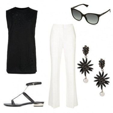 Outfit Simply Black and White