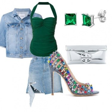 Outfit Serata estiva in discoteca