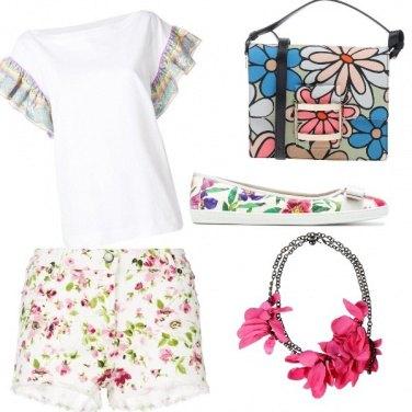 Outfit Noi che amiamo i fiori