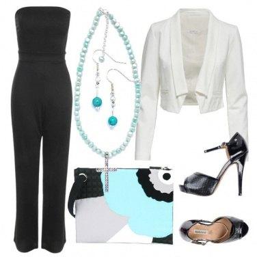 Outfit Un tocco d\'azzurro