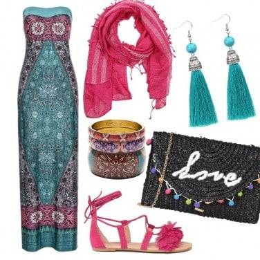 Outfit Colore etnico