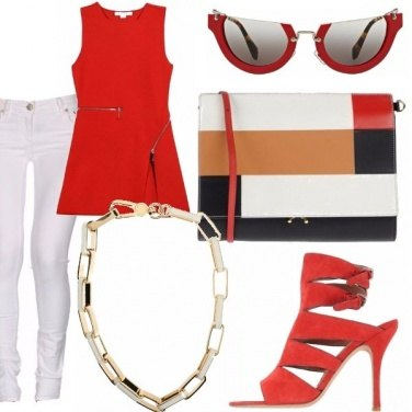 Outfit Mondrian