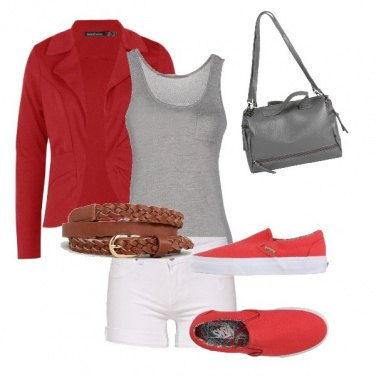 Outfit Redgrey