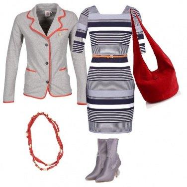 Outfit Grigio passepartout
