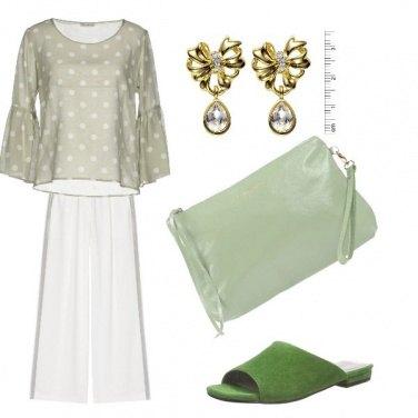 Outfit Un pizzico di verde