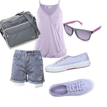 Outfit Sneakers macramè
