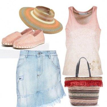 Outfit Romantica alla spiaggia