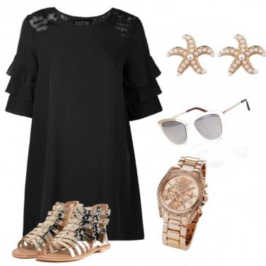 Outfit Miss Gold