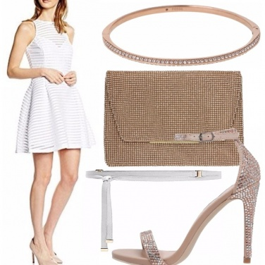 Outfit Bianco seducente