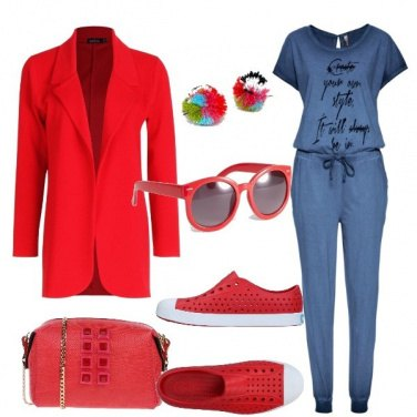 Outfit La jumpsuit in maglina