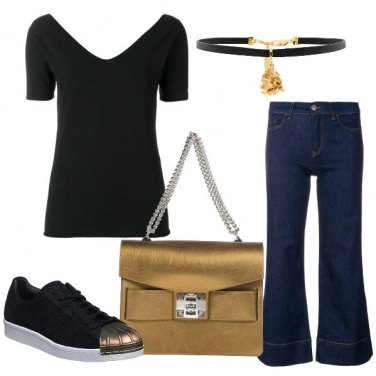 the latest a27ba 00170 Outfit Una ragazza d  oro