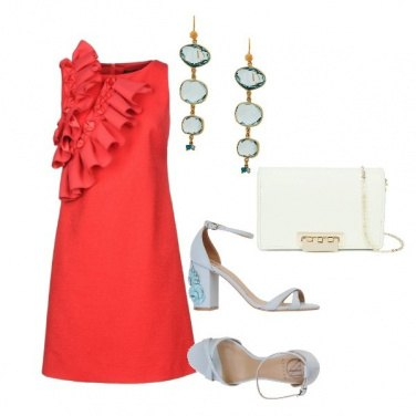 Outfit Red Volant