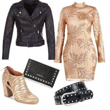 Outfit Splendente e sorprendente