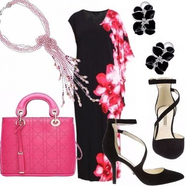 Outfit Curvy...in fiore