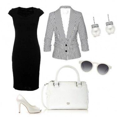 Outfit In ufficio b&w