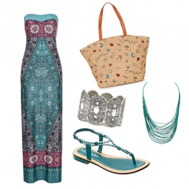 Outfit Boehmien chic