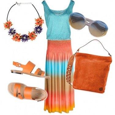 Outfit Un po' di colore