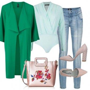 Outfit Verde più verde