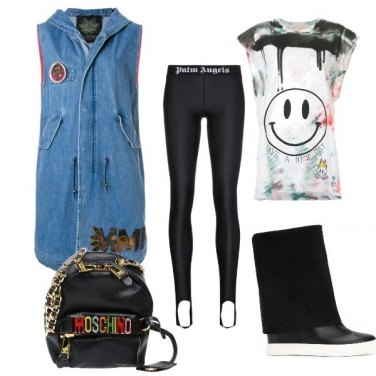 Outfit Sporty trendy