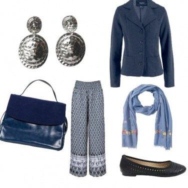 Outfit Pomeriggio in blu.....