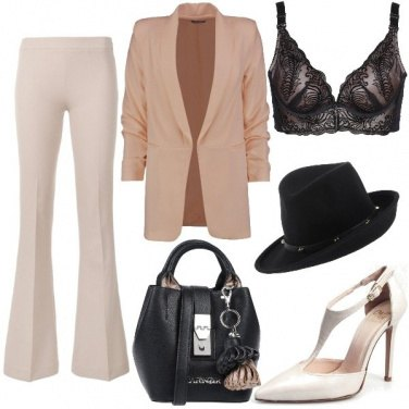 Outfit Mannish sexy