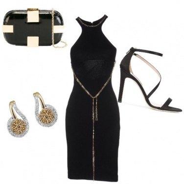 Outfit Con un filo d'oro