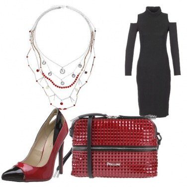 Outfit Red and black