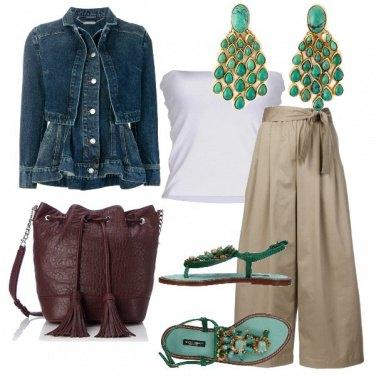 Outfit Il giubbotto di jeans