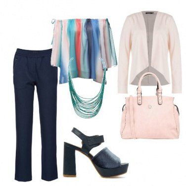 Outfit Blusa multicolor