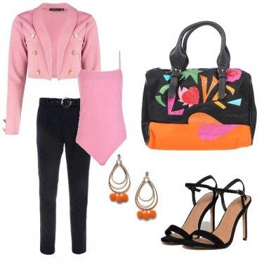 Outfit Borsa multicolore