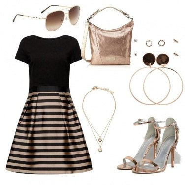 Outfit Bronze Style