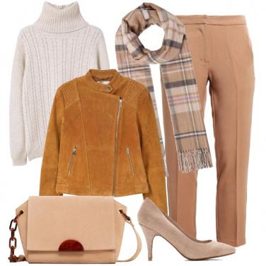 Outfit L\'eleganza del beige