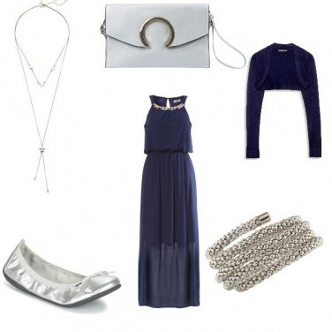 Outfit Sera in argento....