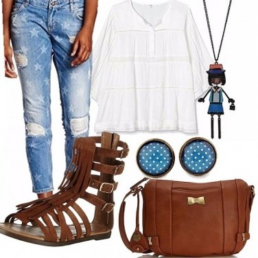 Outfit A stelle&pois