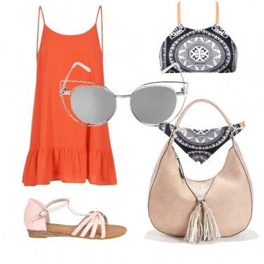 Outfit Peach beach