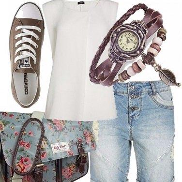 Outfit Jeans corto per tutte