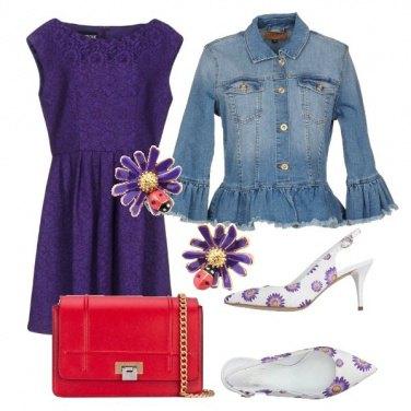 Outfit Fiorellini viola