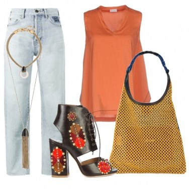 Outfit Ethnic easy