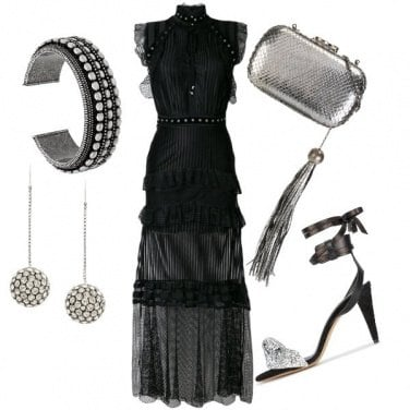 Outfit Black & Shine