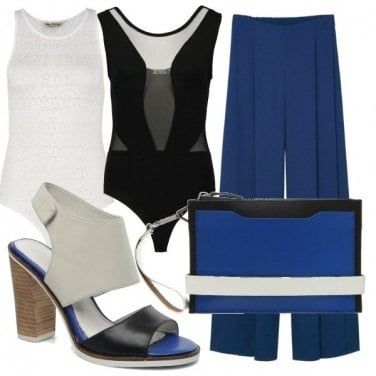 Outfit Elegante e leggero