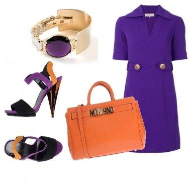 Outfit Orange bag