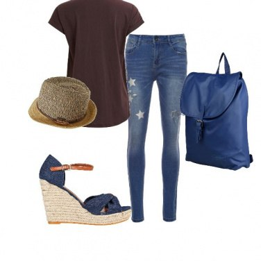 Outfit Jeans and t-shirt