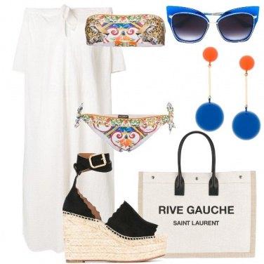 Outfit Gli occhiali blu