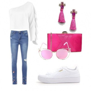 Outfit In pink we trust