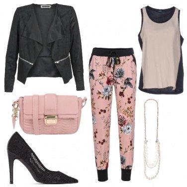 Outfit Casual fiorito