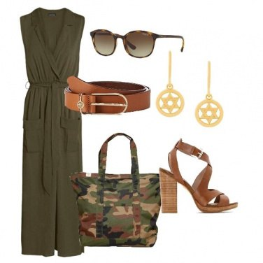 Outfit Military green #02