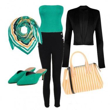 Outfit Limone e menta