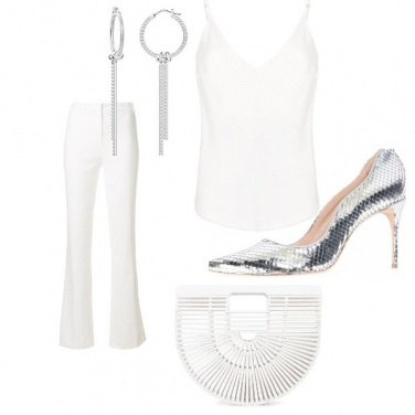 Outfit Totale white